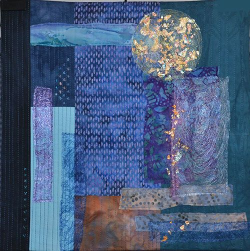 Tangled Textiles: it's a blue nightfall, now I weep