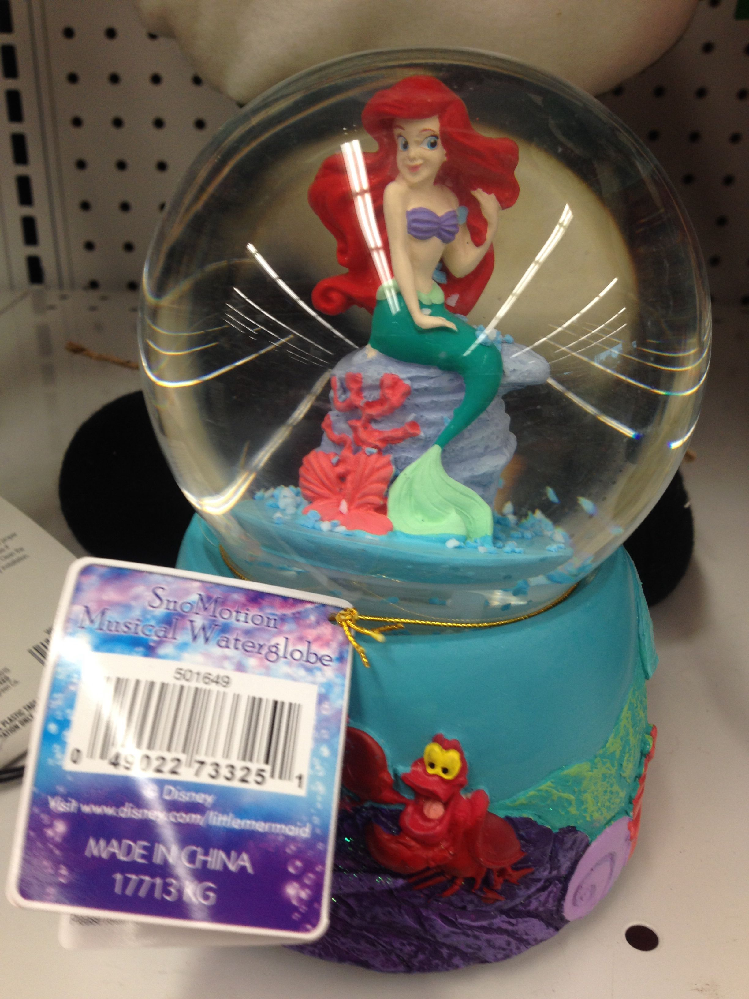 Walgreens Ariel snow globe. I would have bought it if it played a ...