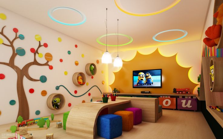 Brinquedoteca the universe of children pinterest - Escuela decoracion de interiores ...