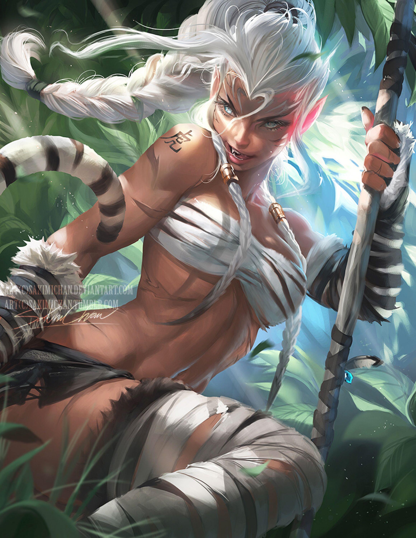 Chinese zodiac tiger by sakimichan on deviantart