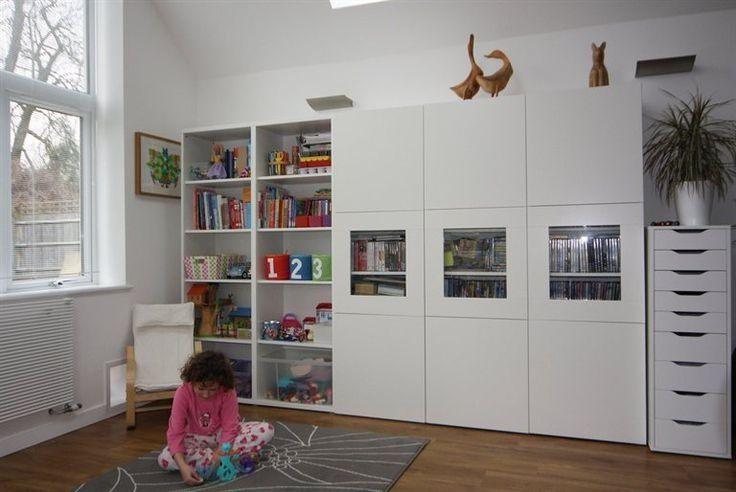 kids storage ikea besta pinterest kinderzimmer wohnzimmer und arbeitszimmer. Black Bedroom Furniture Sets. Home Design Ideas