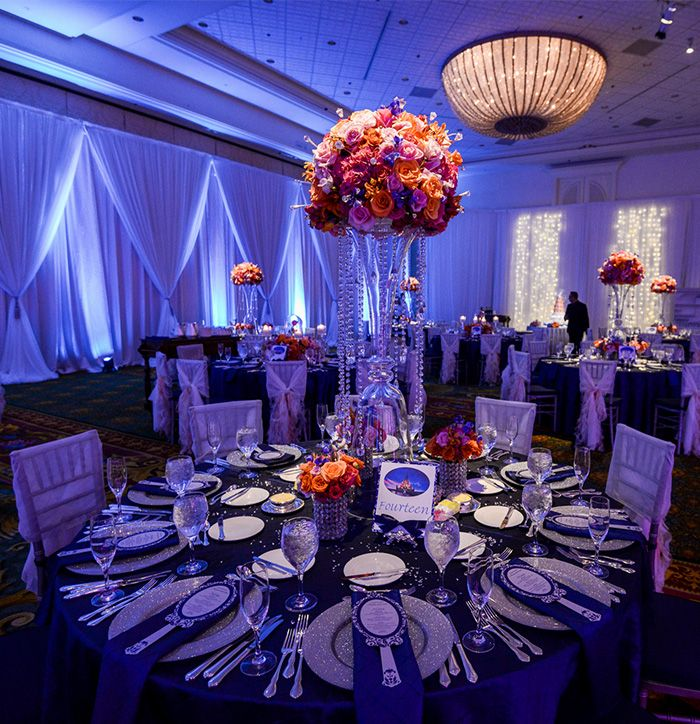 This Wedding Reception At Disney S Grand Floridian Resort Ballroom Is Filled With Sparkling Details