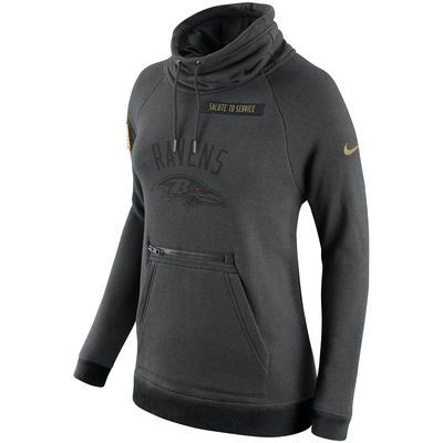 Nice Women's Baltimore Ravens Nike Charcoal Salute to Service Rally  for cheap