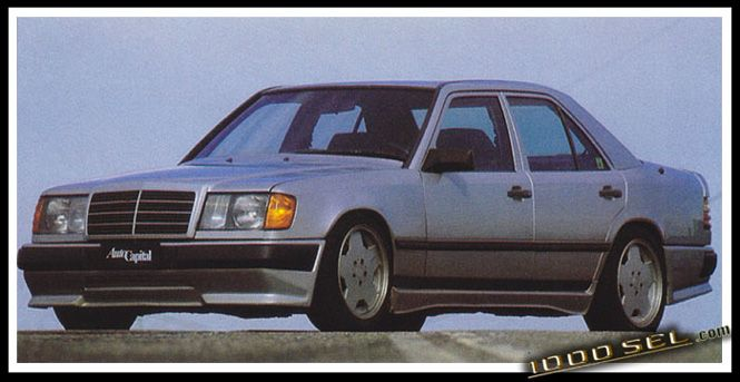 Amg Mercedes Benz W124 300e Hammer 5 0 5 6 And 6 0 This Amg