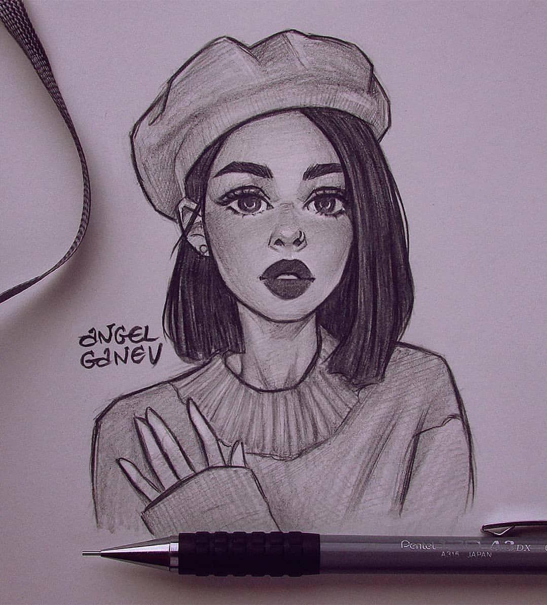 Рисунки девушек работа москва временная работа девушки