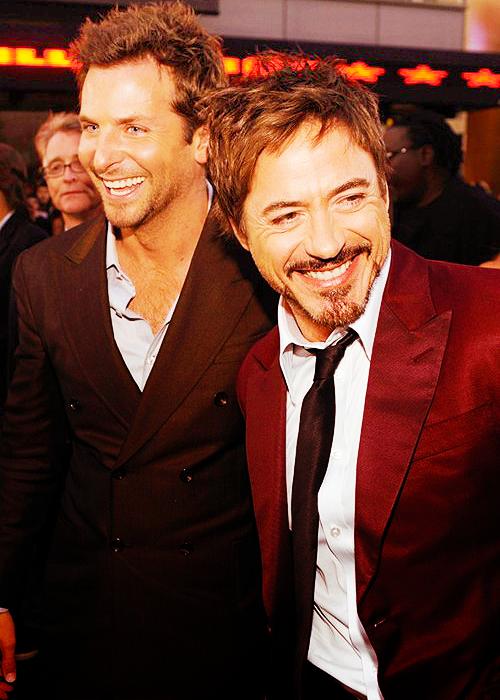 Bradley Cooper & Robert Downey Jr