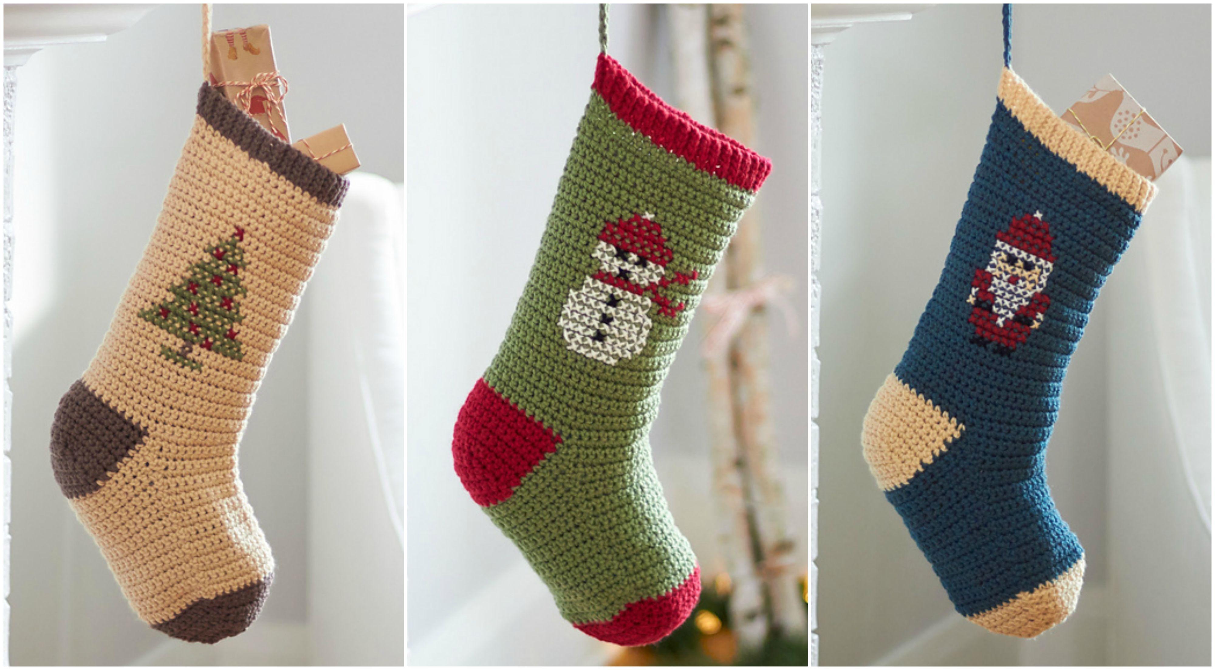 Amazing Christmas Stockings – Free Crochet Pattern - Free PDF from ...