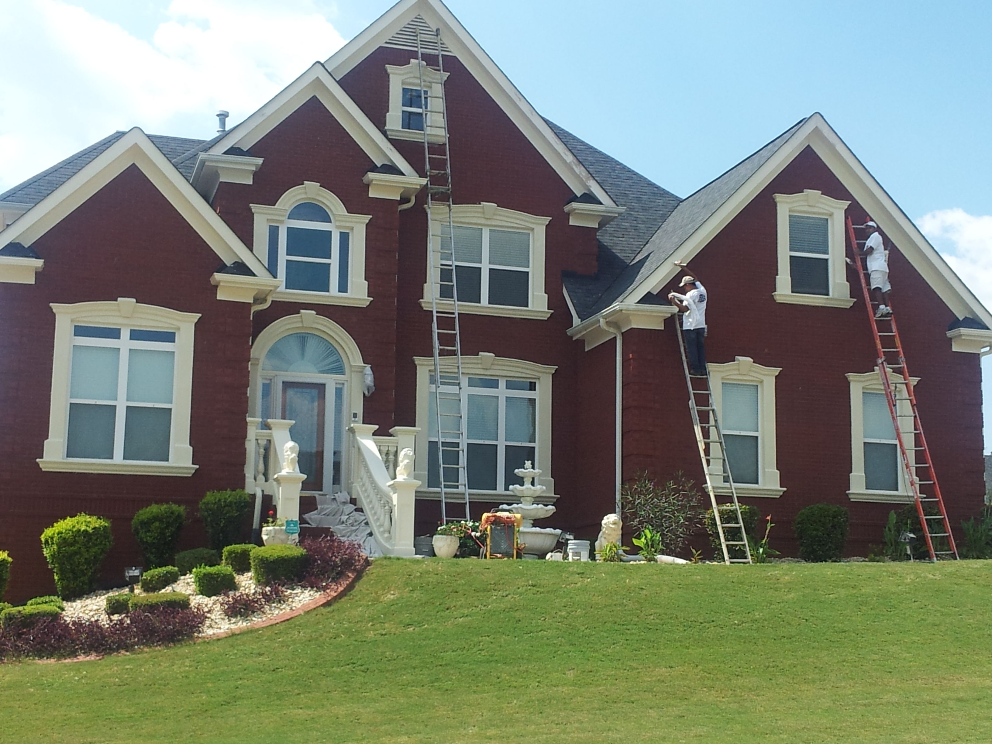 We'll bring the ladders, boost your curb appeal, exterior painting, house painting