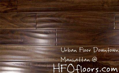 Urban Floor Downtown Series Manhattan Hand Scraped Acacia Hardwood Flooring Hardwood Hardwood Floors