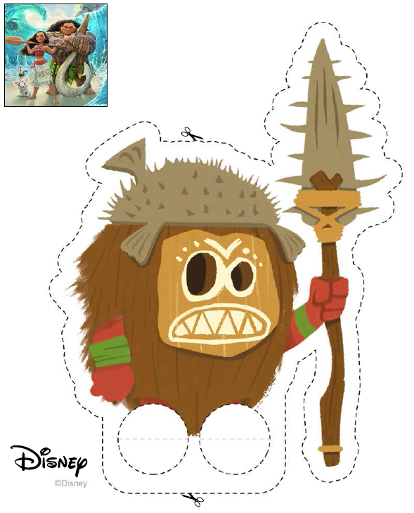 graphic relating to Kakamora Printable referred to as Pin through Cunning Annabelle upon Moana (Disney) Printables Moana