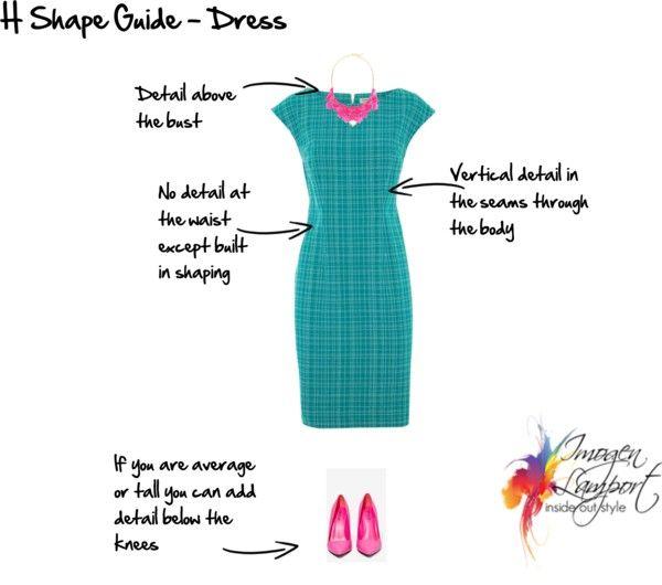 Body Shape Bible: Understanding How to Dress H Shape ...