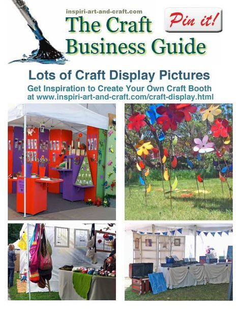 Lots of craft display photos at http://www.craftprofessional.com/craft-display.html