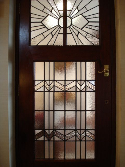 Holme valley stained glass repaired art deco door panels art holme valley stained glass repaired art deco door panels planetlyrics Images