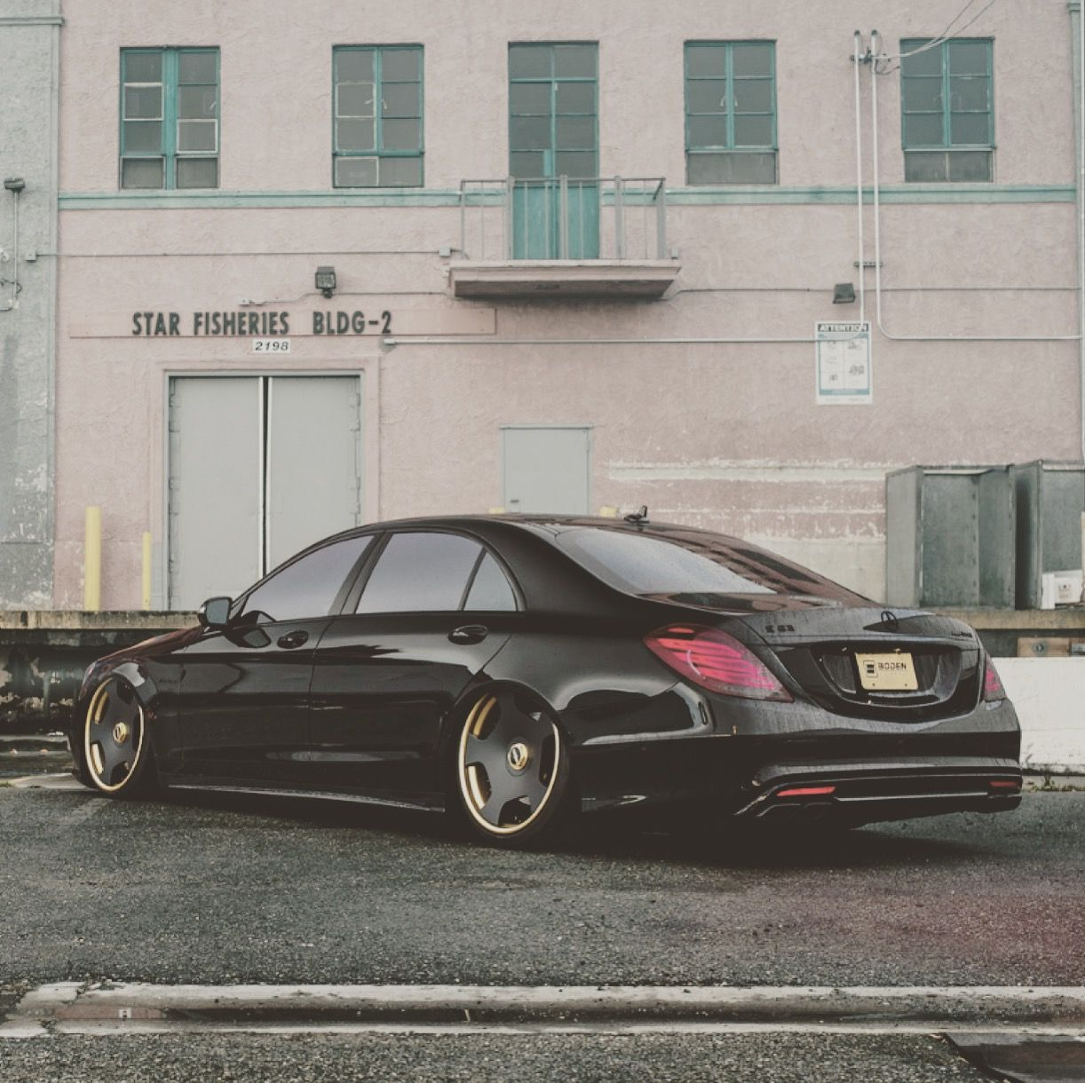 Boden Autohaus Tricked Out This Mercedes Benz S63 Amg With A Set Of
