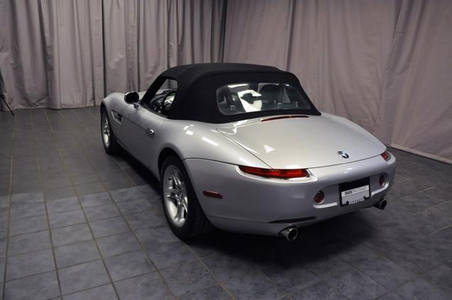 Silver BMW Z8 Black Wedding sports car  expensive wedding car, cool wedding car, BMW wedding, Bride limo, groom transportation unique http://www.iseecars.com/used-cars/used-bmw-for-sale#results
