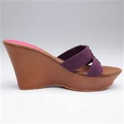 69% discount on Starlo Women Purple - Wedges