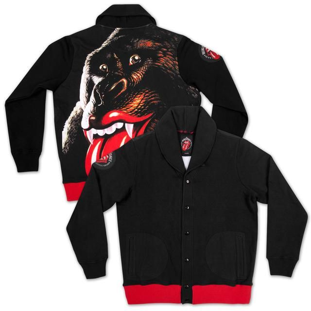 The Rolling Stones Gorilla Button Up Sweater