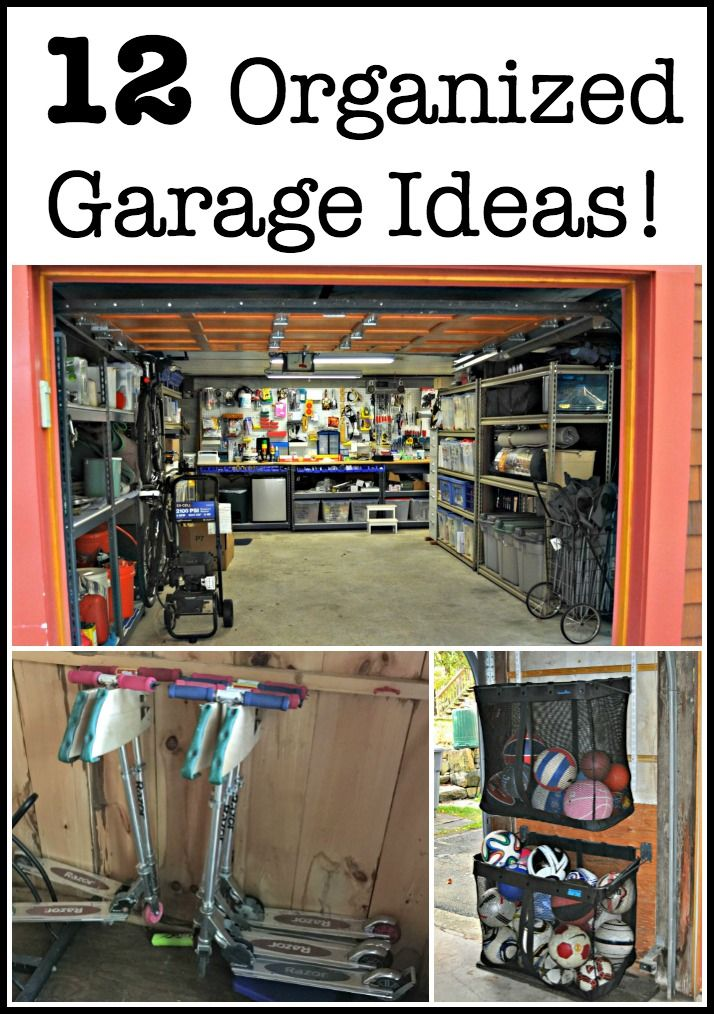 It Would Be Great If Our Garages Were Organized Functional And Pretty Right Here Are 12 Garage Ideas To Help You Achieve