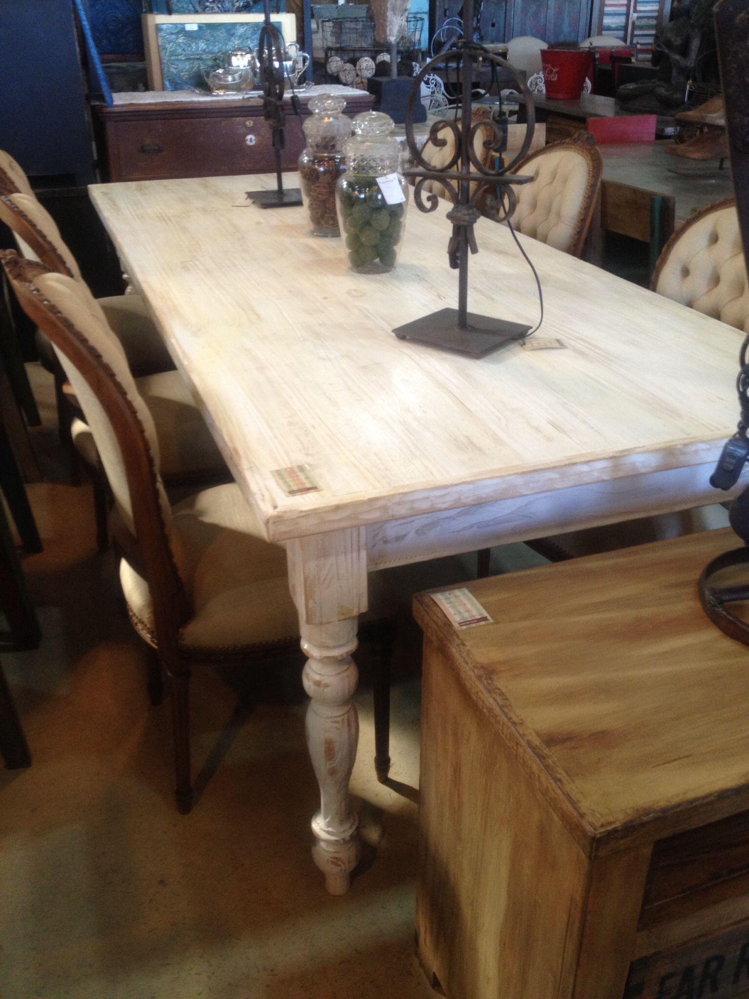 Mesa decapada y patinada Renové la mesa d casa y quedó como nueva ...