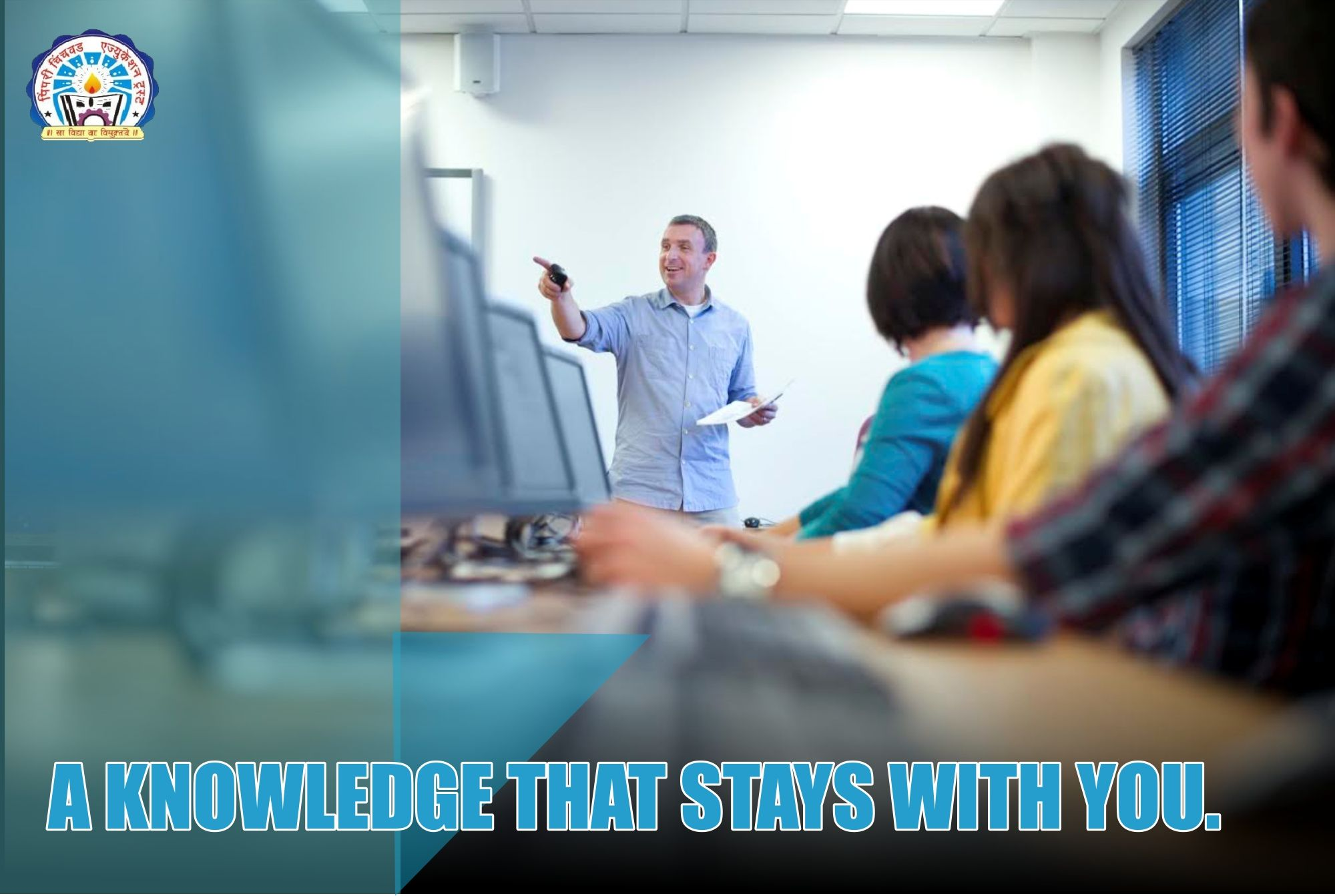 With our strategical teaching methods, we try to open