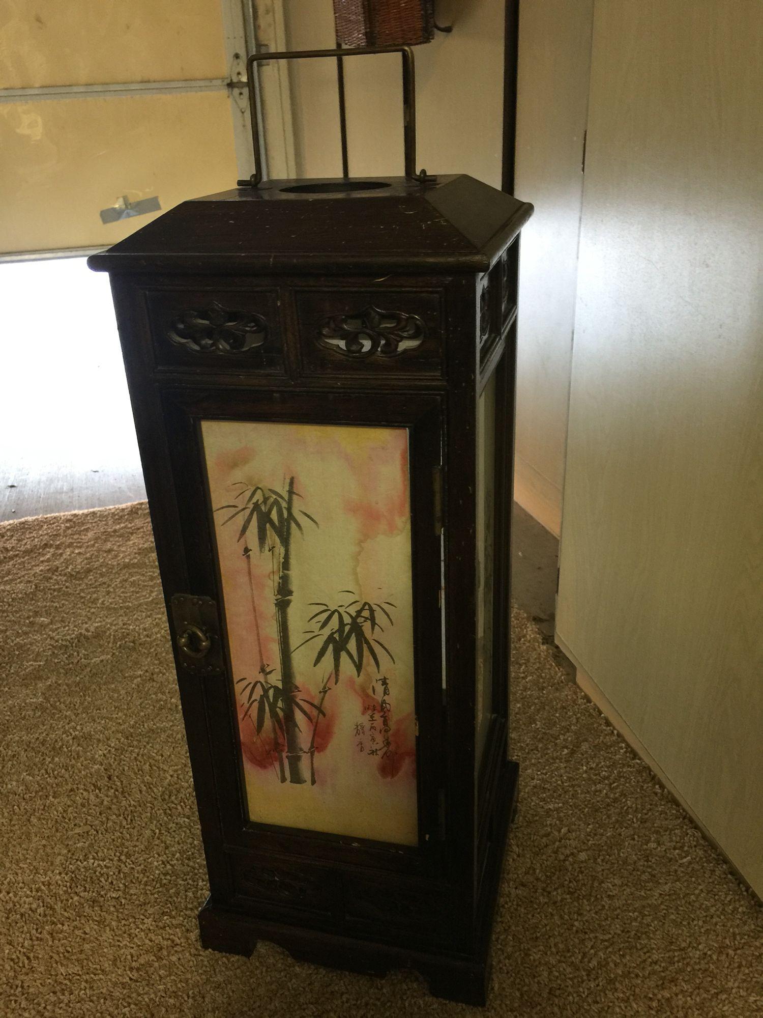Asian Decor Lamp  $49.00