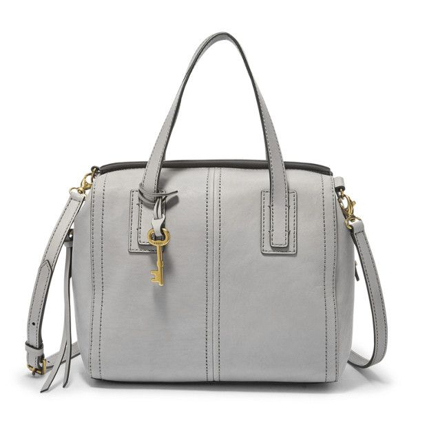 Fossil Emma Satchel: for the love of grey | Adorable Accessories ...
