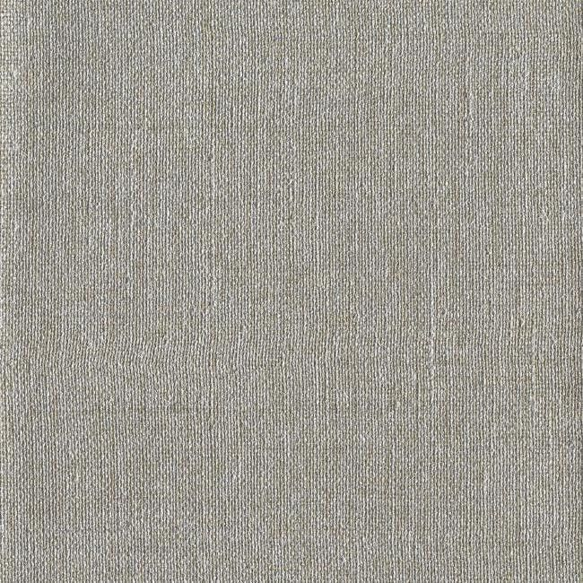 Sample Cheviot Wallpaper in Silver by Ronald Redding for York Wallcoverings