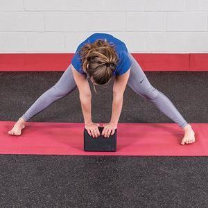 body solid yoga block  yoga block yoga workout for