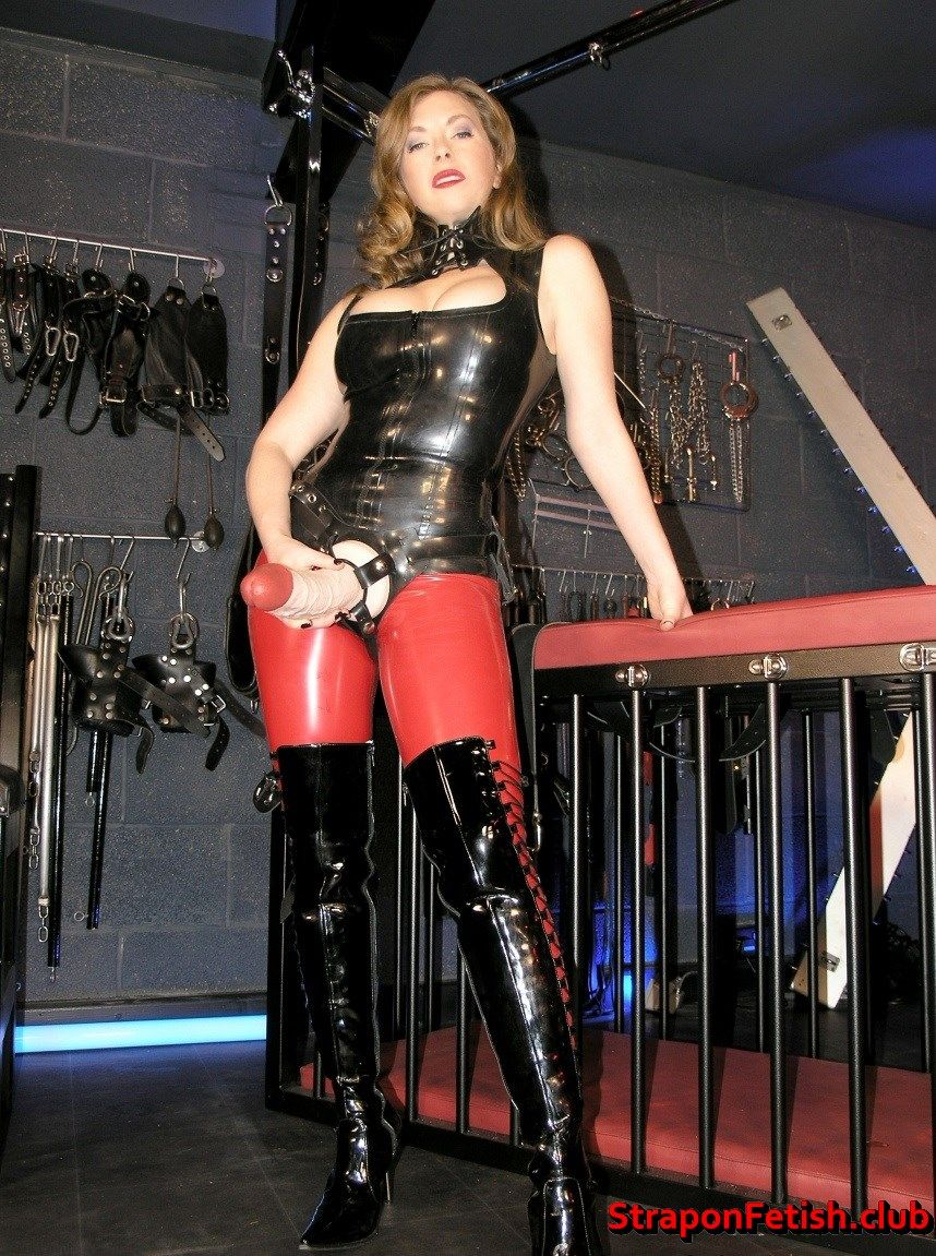 Strapon Mistress Model #strapon #femdom #latex #lingerie #leather #sexart #