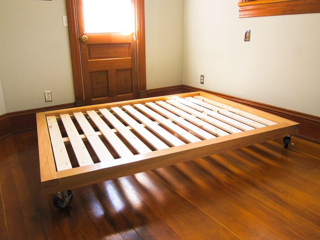 diy platform bed casters | Beds | Pinterest | Bed casters ...