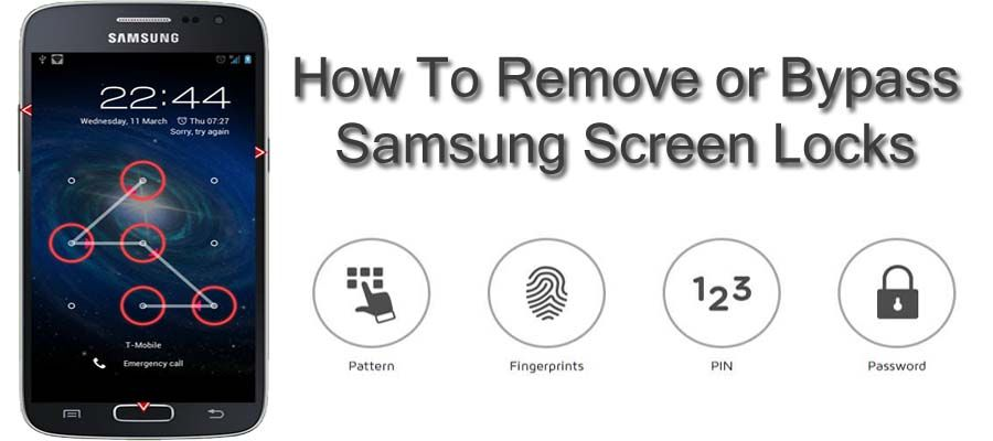 Here i share 10 solutions to remove or bypass samsung