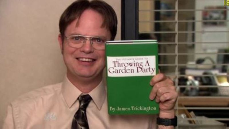 10 Garden Party 10 Best Jim And Dwight Moments From The