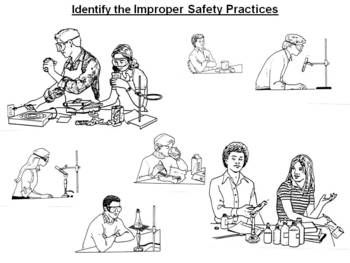 Identify Improper Science Safety Situations ActiveInspire