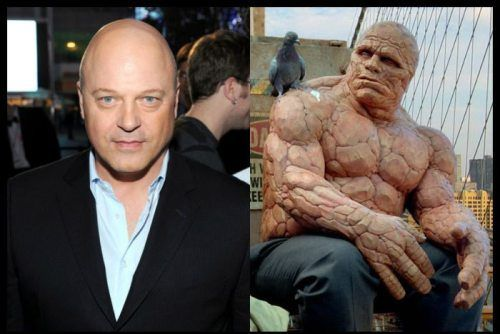 Actors that played some unrecognizable roles (60 Photos ... Michael Chiklis The Thing Makeup
