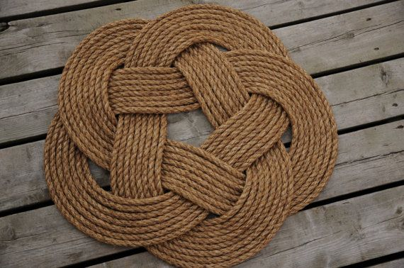 Nautical Rope Rug Rope Mat Ideen