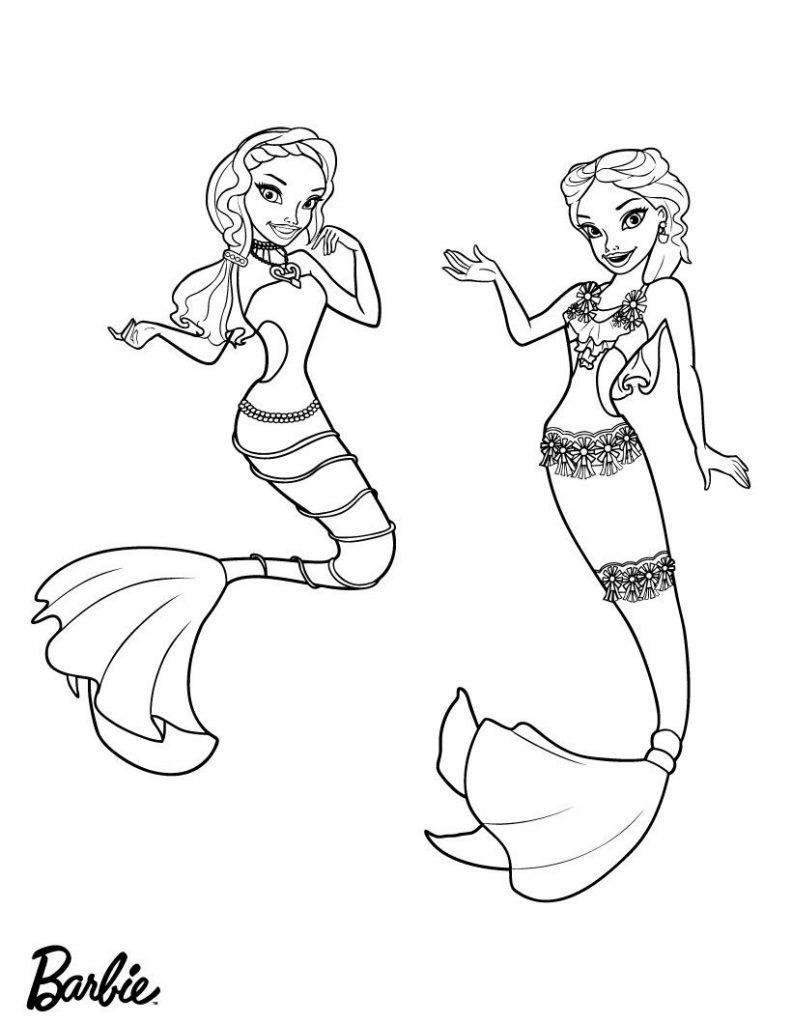 Barbie Mermaid Coloring Pages Best Coloring Pages For Kids Mermaid Coloring Pages Mermaid Coloring Book Barbie Coloring