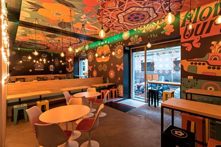 Sesonki Gastro Bar - Designed and realized by AFA