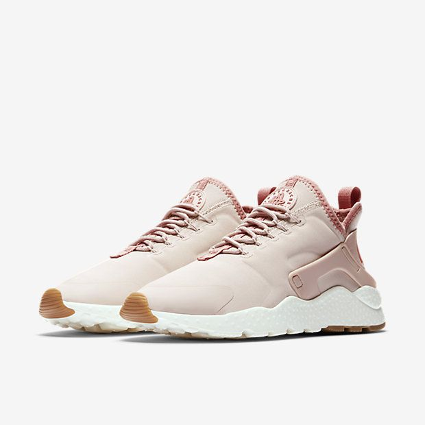 pink women nike huaraches ultra