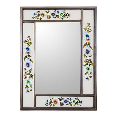 Mirror, 'Modern Daisy' #modernpowderrooms