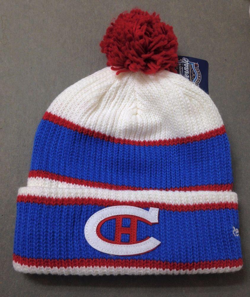 0b8bdbabbfcea4 2016 HIVERNALE CLASSIQUE WINTER CLASSIC POM BEANIE Montreal Canadiens  Men/Women #Reebok #MontrealCanadiens