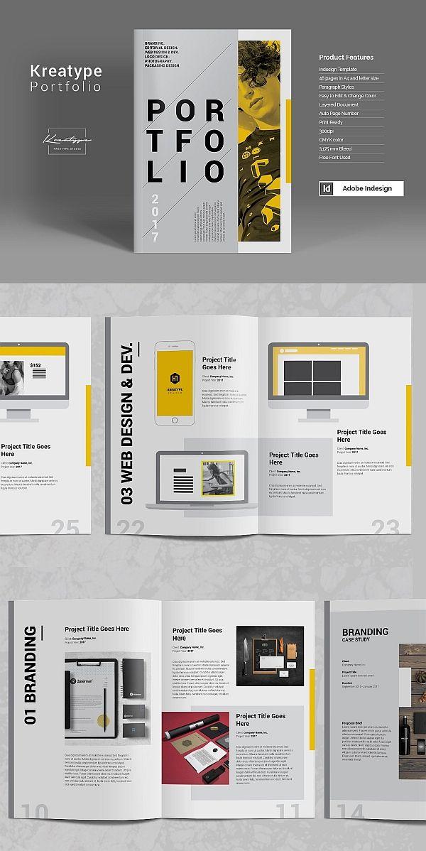 kreatype photography portfolio brochure templates. Black Bedroom Furniture Sets. Home Design Ideas