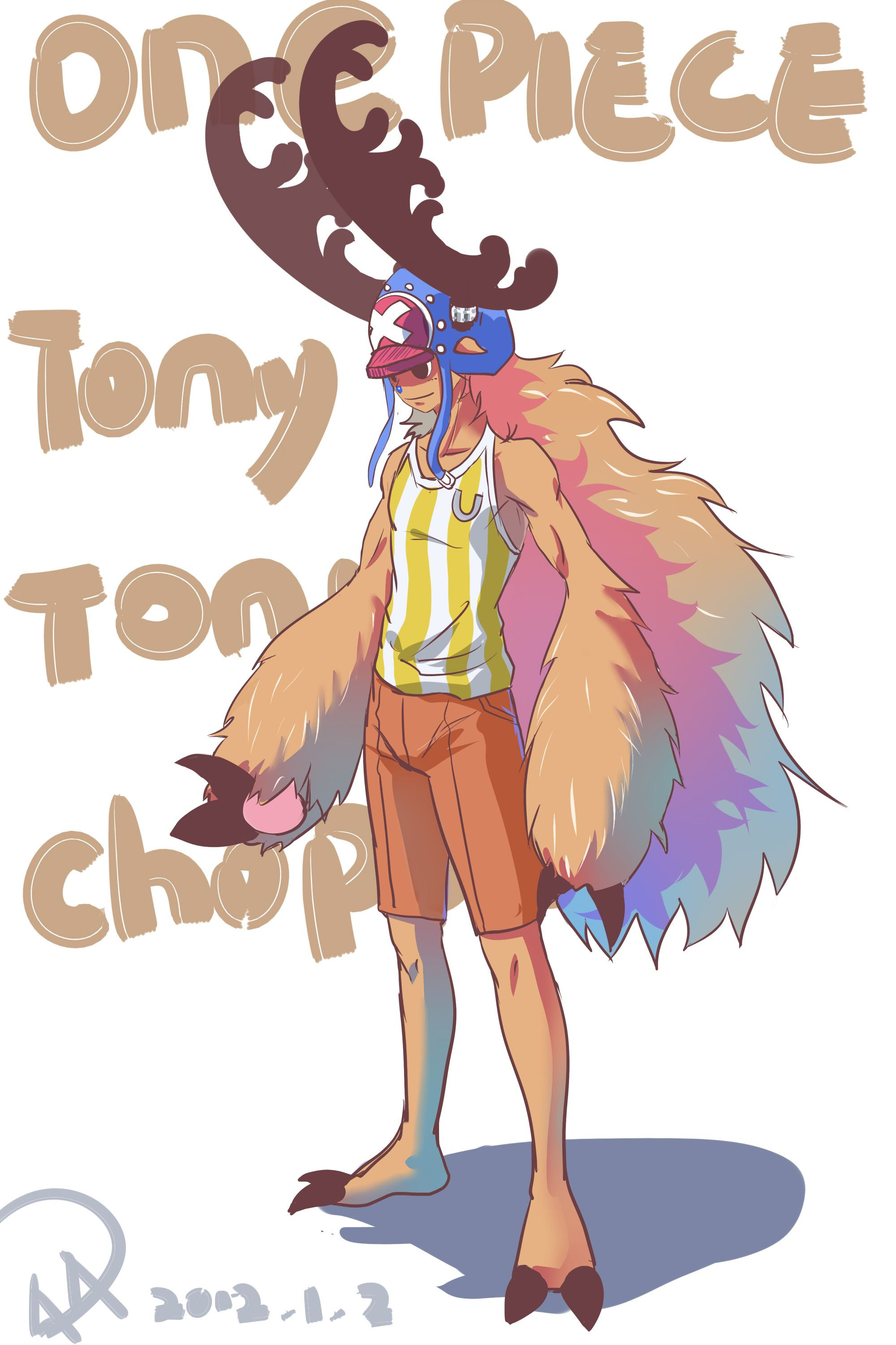 Chopper One Piece All Forms