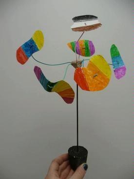 Calder mobile idea