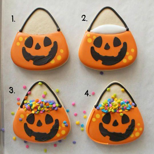 17 Halloween Sugar Cookie Ideas You Can Actually Do Yourself
