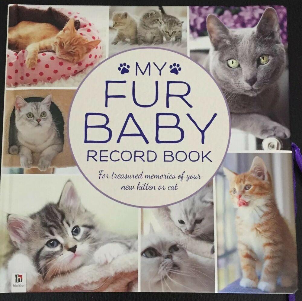 Baby Kitten Cat 5 Years Memory Record Book Fur Baby Cat Brand New Pet Animal Babyrecordbook Baby Kitten Cat 5 Yea In 2020 Fur Baby Cat Baby Cats Baby Girl Memory Book