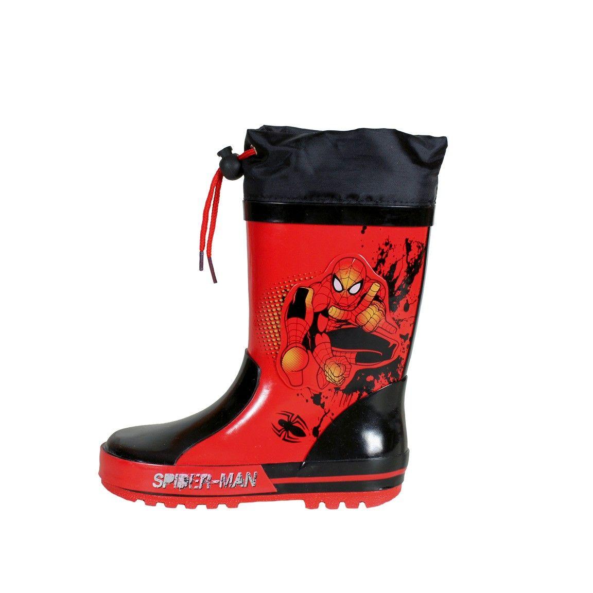 botas de agua spiderman zara