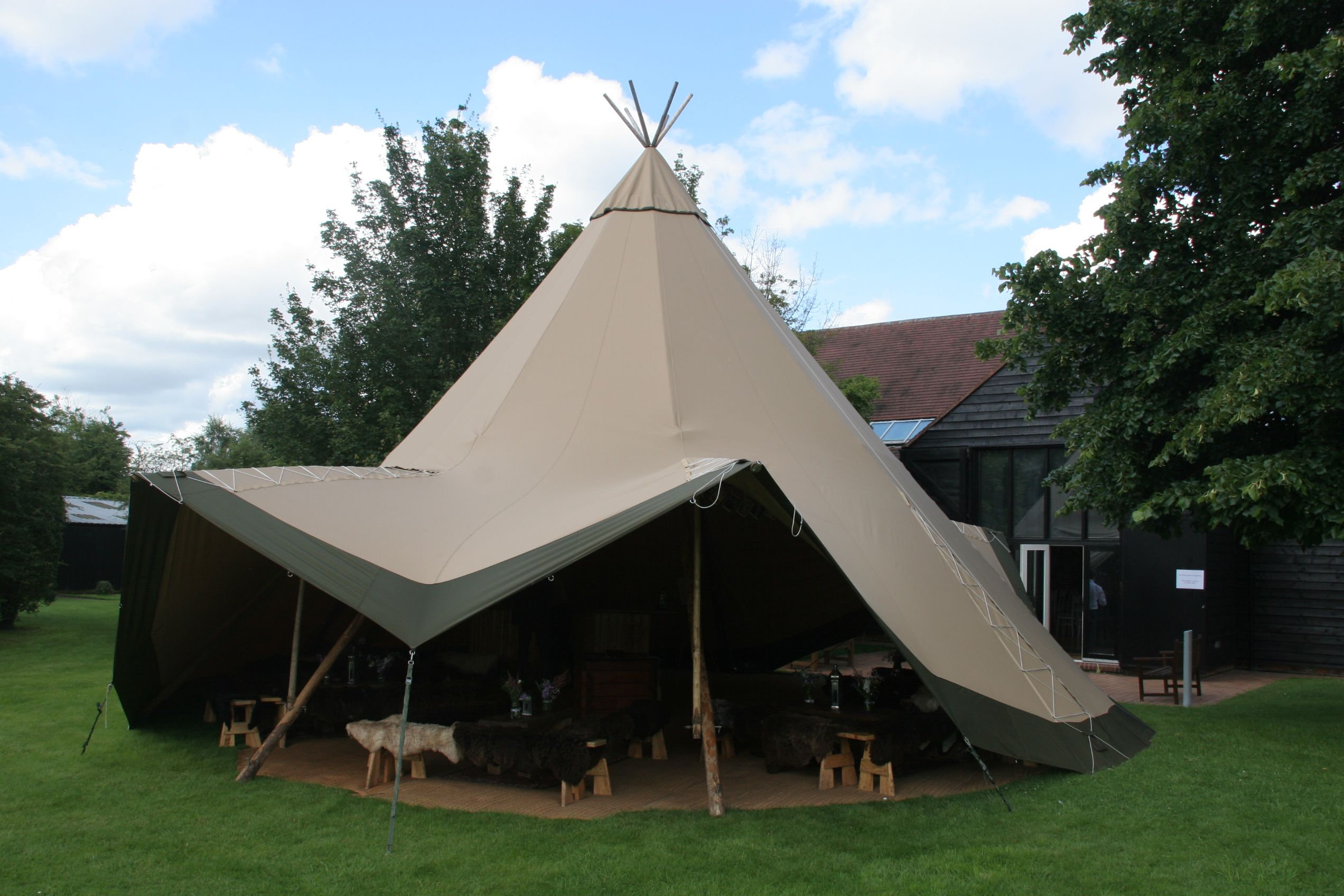 Tipis4hire Wedding At The Henry Moore Foundation