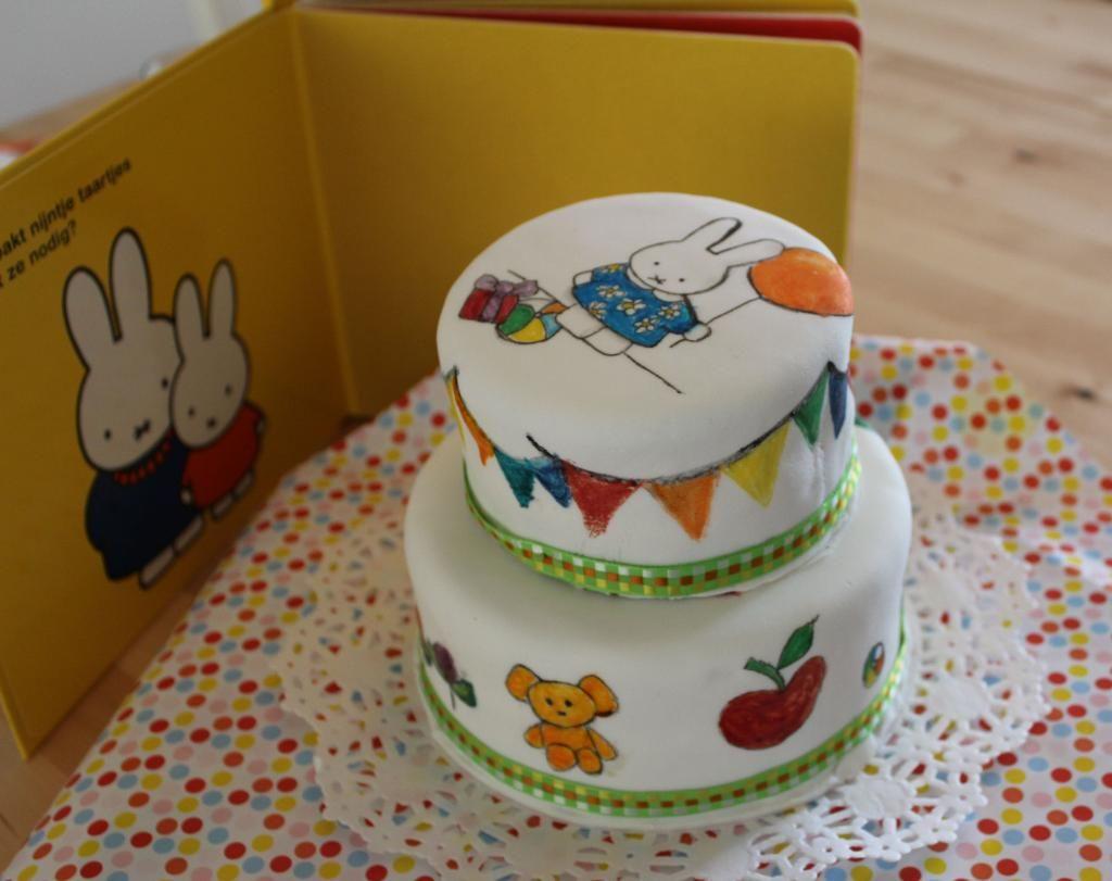 A Nijntje Miffy By Dutch Artist Dick Bruna Inspired Birthday Cake