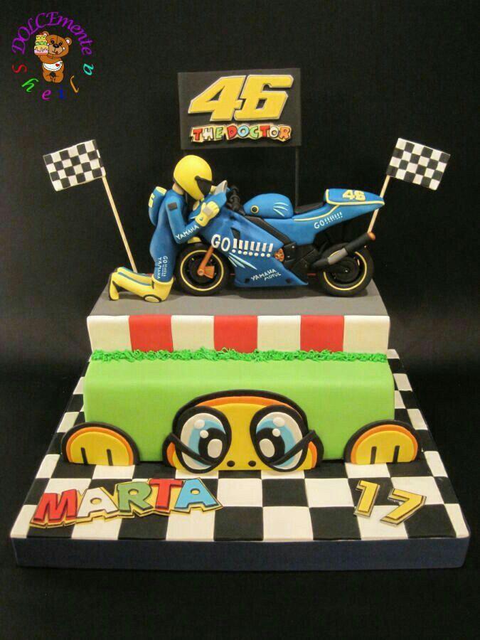 Pin by Ric Wozniak on VR 46 Pinterest – Valentino Rossi Birthday Card