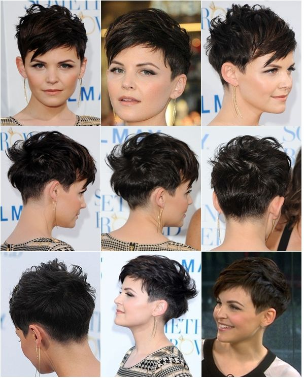 Just Did This Mosaic Of Ginnifer Goodwin Gonna Show This To My Hairdresser It S Just Perfect Haircut For Thick Hair Hair Styles Pixie Haircut